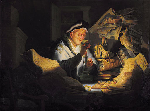 The Parable of the Rich Fool, Rembrandt, 1627. Image in the public domain, taken from Wikipedia.