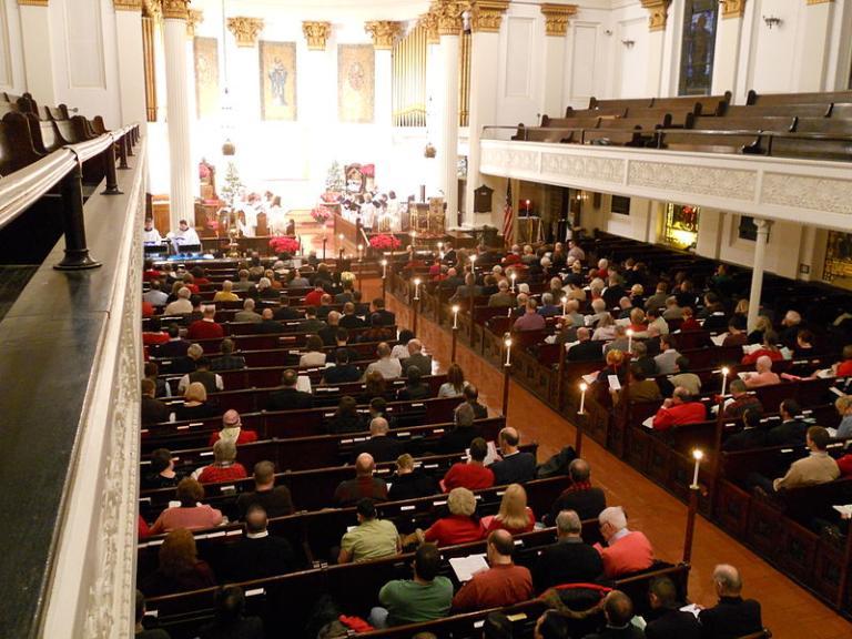Church of St. Luke and the Epiphany, Philadelphia (public domain via Wikipedia)