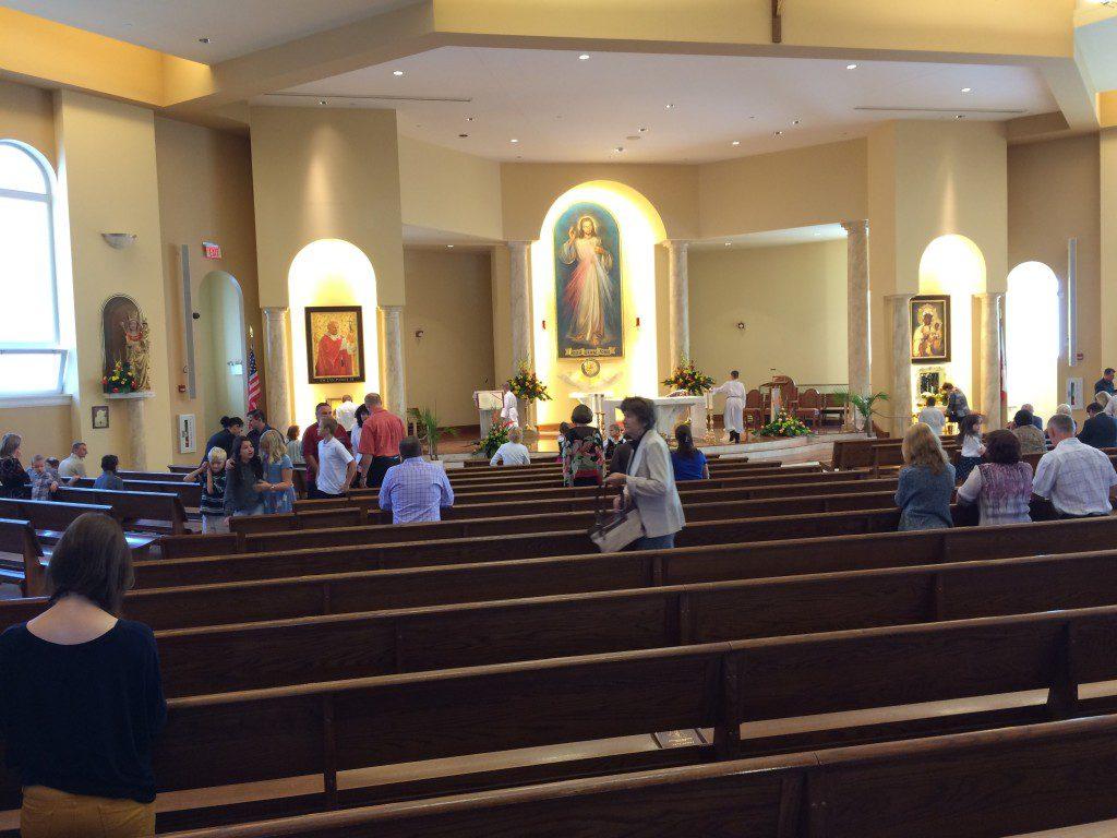 DM church interior