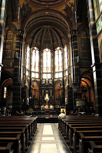 https://commons.wikimedia.org/wiki/File%3ABasilica_of_St._Nicholas_(interior)._Amsterdam%2C_Netherlands%2C_Northern_Europe-2.jpg; By Mstyslav Chernov (Self-photographed, http://mstyslav-chernov.com/) [CC BY-SA 3.0 (http://creativecommons.org/licenses/by-sa/3.0)], via Wikimedia Commons