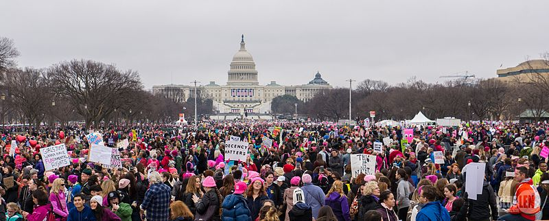 https://commons.wikimedia.org/wiki/File:Trump-WomensMarch_2017-top-1510075_(32409710246).jpg