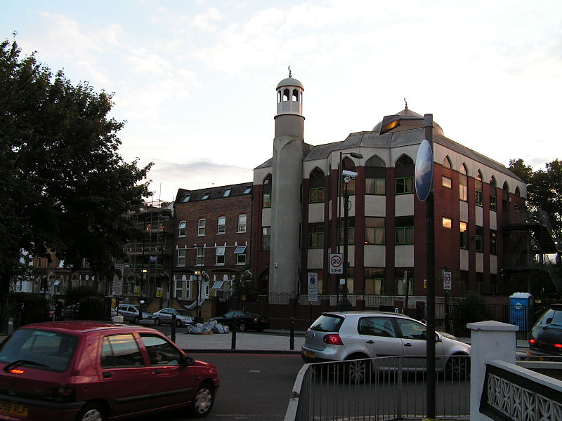From Wikipedia: https://commons.wikimedia.org/wiki/File%3AFinsbury_Park_mosque_-_panoramio.jpg; Olof Lagerkvist [CC BY 3.0 (http://creativecommons.org/licenses/by/3.0)], via Wikimedia Commons