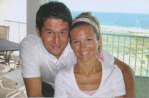 Kelly and Shawn on their honeymoon.