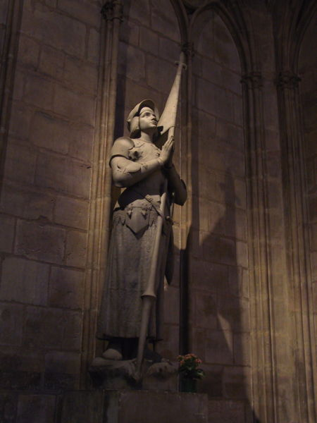 Joan of Arc, courtesy of Wikipedia Commons and available for public use.
