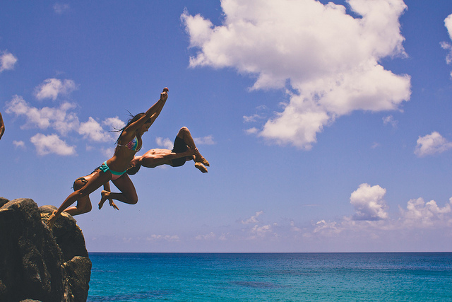 Dive in! (Credit: Steven Worster, CC license.)
