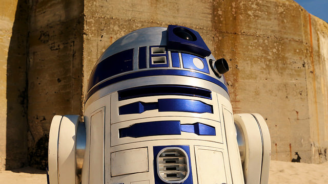 Some of us are born great; some of us achieve greatness; and some of us end up as the robot lackeys of the kid who was born with an obscene amount of midi-chlorians in his blood. (Credit: Darryl Moran, CC license.)