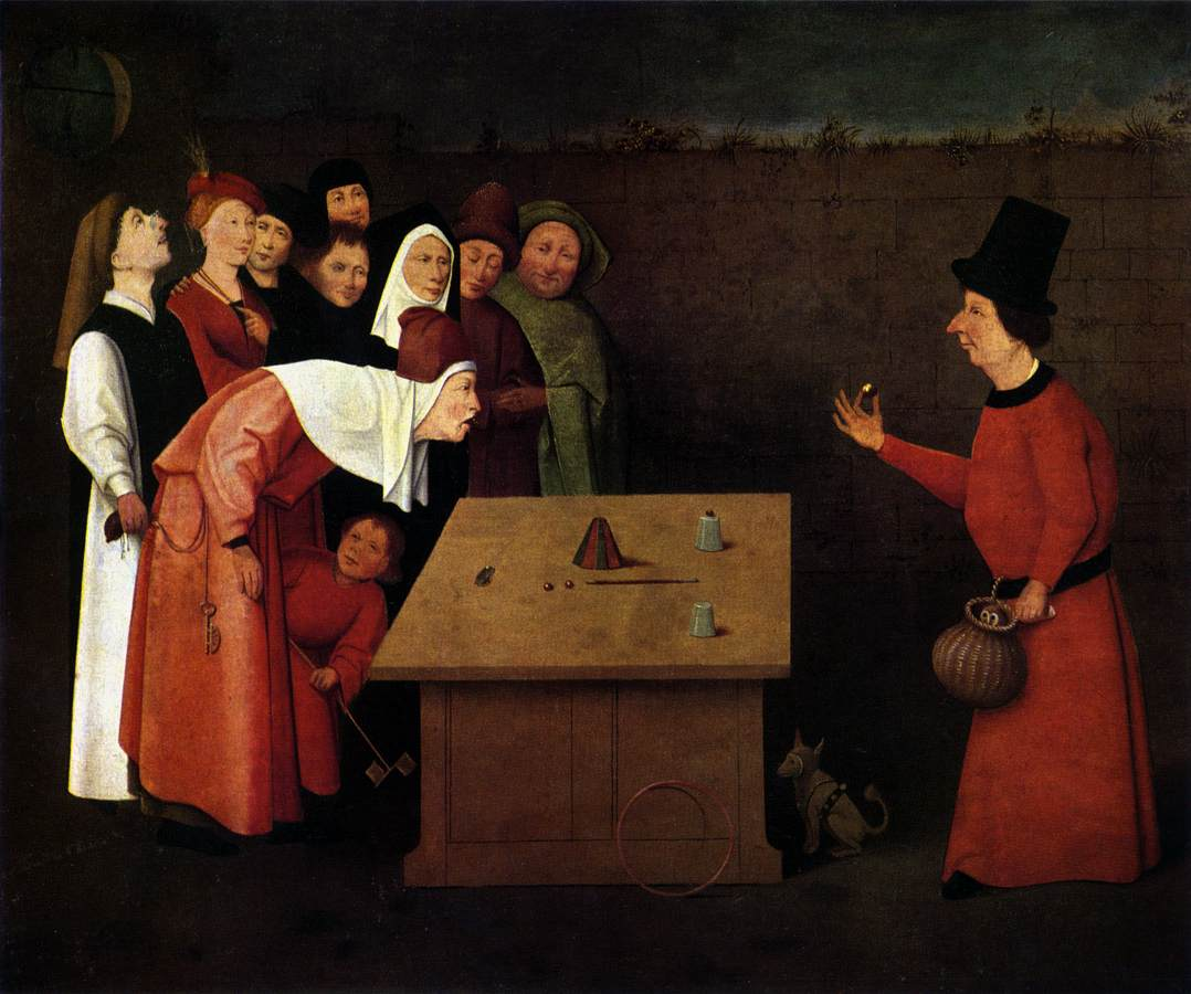 """Where could the ball be? (Credit: By Hieronymus Bosch (circa 1450–1516) and workshop - Web Gallery of Art:  Image Info about artwork, Public Domain, https://commons.wikimedia.org/w/index.php?curid=2218762"""">.)"""
