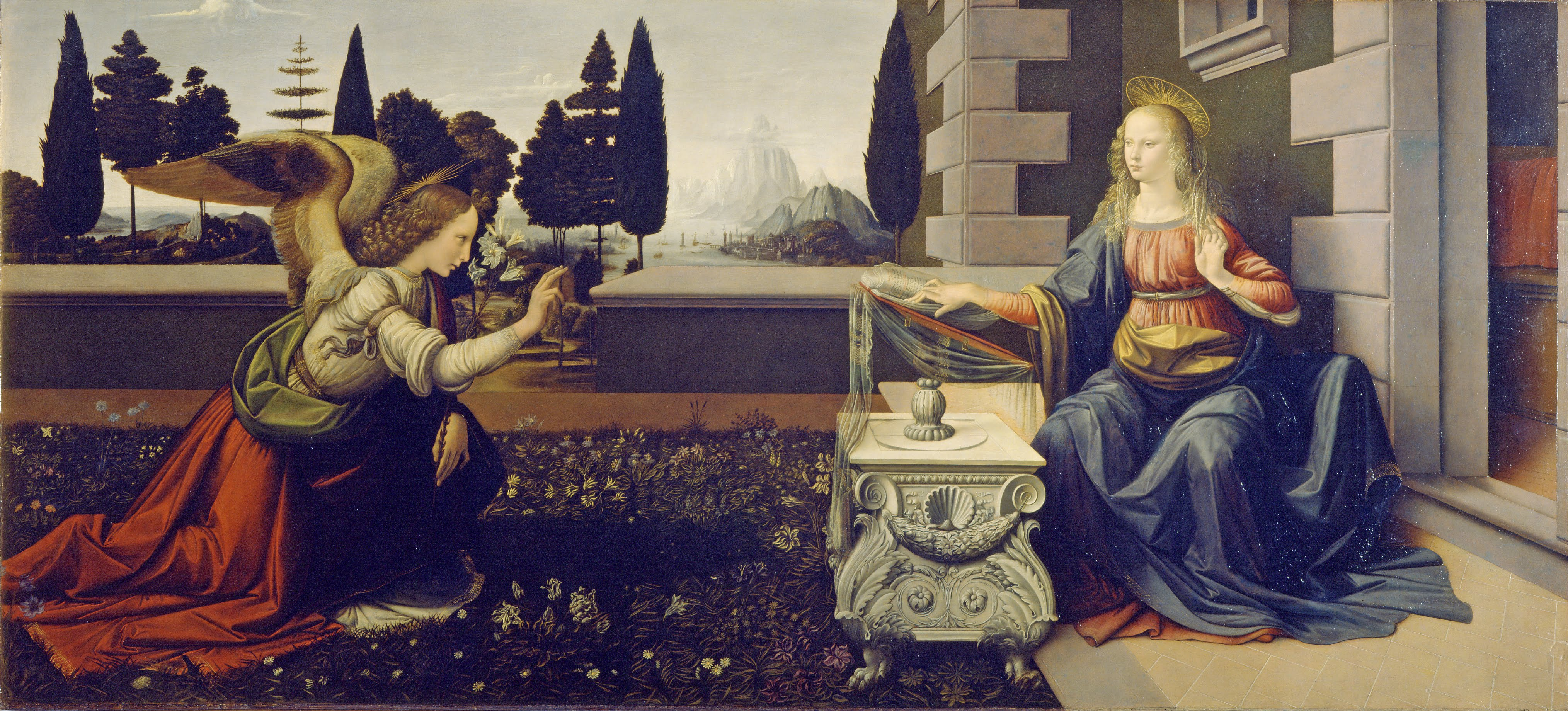 By Leonardo da Vinci - sAErNLFH1KFYmw at Google Cultural Institute, Public Domain.