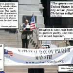 How the National Day of Prayer Grew Out of the Red Scare.