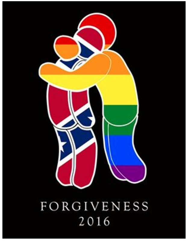 Forgiveness decal on twitter