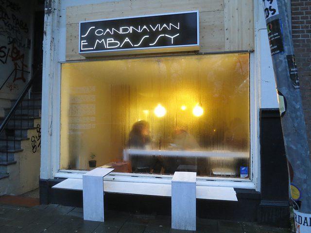 A coffeeshop in Amsterdam. (Alper Çuğun, CC.)