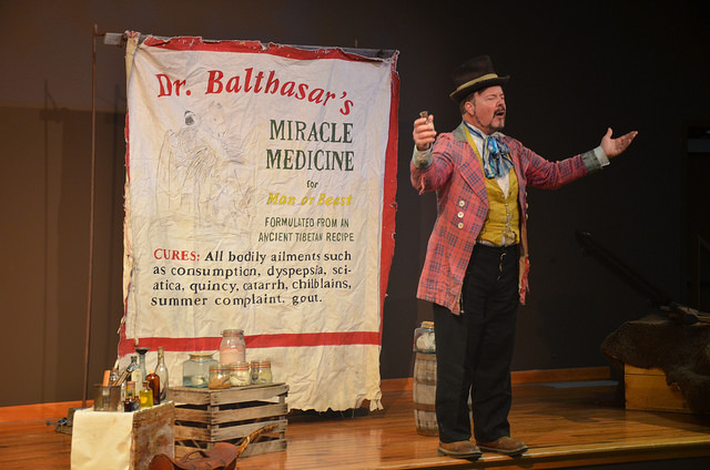 He's been bringing cures from Pilgrim Heights to Provincetown... (Baker County Tourism, CC-ND.)
