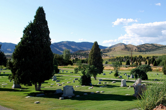 Imagine walking through a cemetery and realizing, with mounting horror, that one grave marker after another belongs to an infant. (Edgar Zuniga Jr., CC-ND.) And then that you are powerless to bring to justice those responsible for all those deaths.
