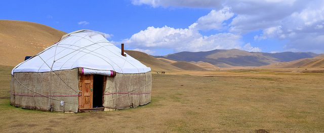 Yurts: They're not just for Renaissance Festival workers anymore. (Prashant Ram, CC-ND.)