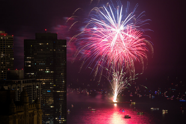 It's also no accident that the wildness of fireworks symbolizes our independence so firmly. (Aurimas, CC-ND.)