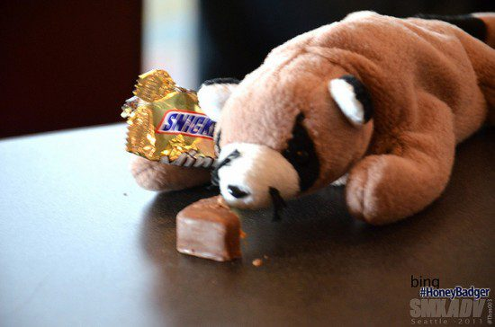 Marginally more successful. At least, Snickers bars actually exist. (Thos Ballantyne, CC.)