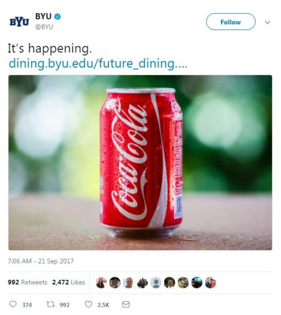 BYU It's Happening