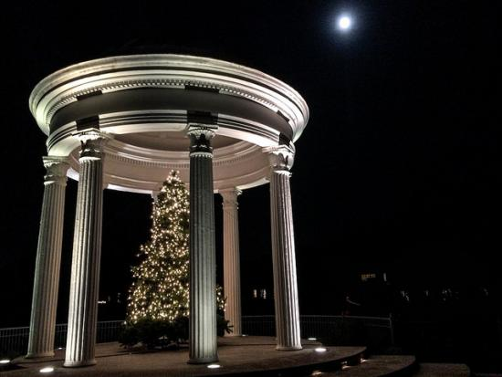 A beautiful shot of the Sibyl Temple in Vestavia Hills, Alabama. (Andy Montgomery, CC-SA.)
