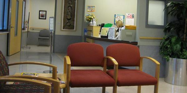 a waiting room