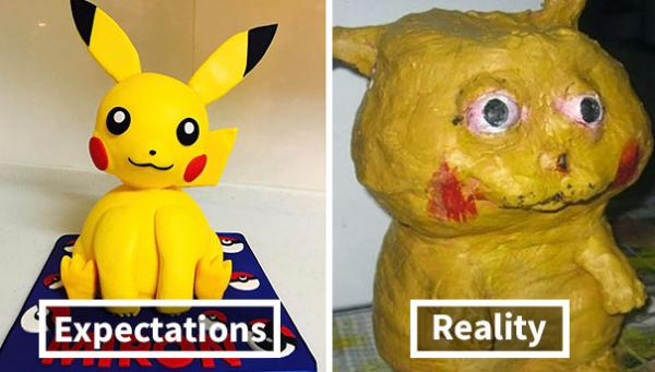 nailed it pikachu cake