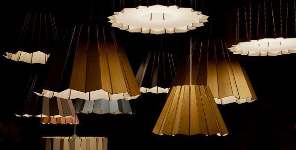artful lampshades