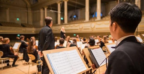 an orchestra in switzerland