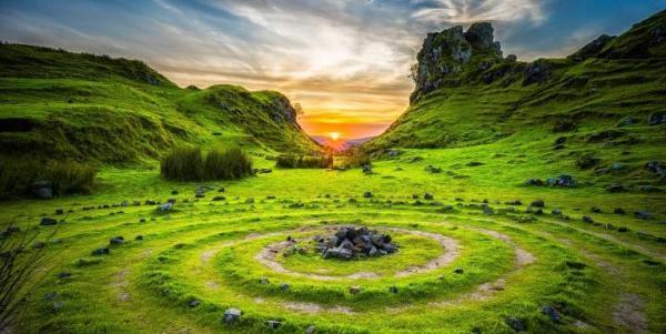 peace at the isle of skye