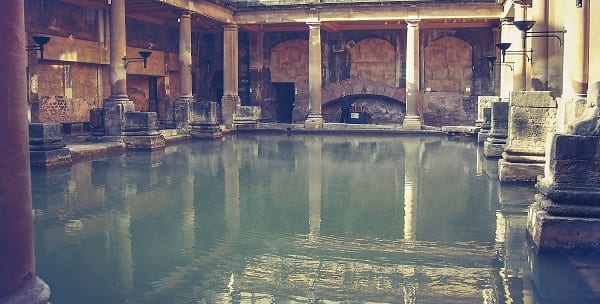 roman baths of bath, england