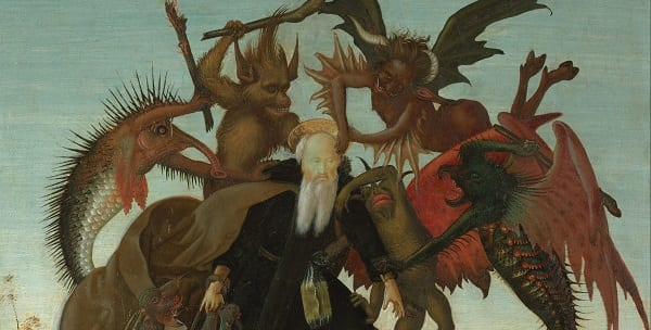 The Torment of Saint Anthony, by Michelangelo.