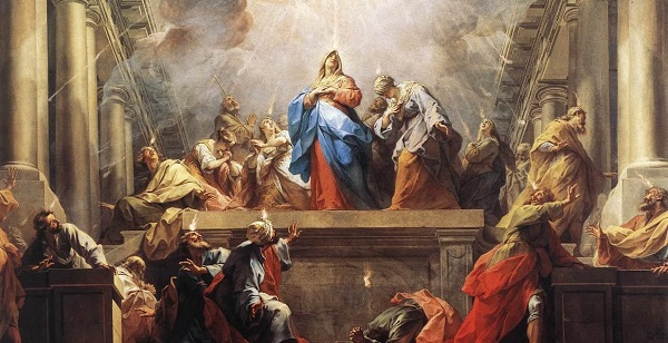 miracle at pentecost painting