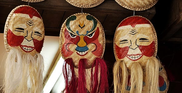happy smiling masks