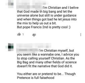 gatekeeping christian creationist