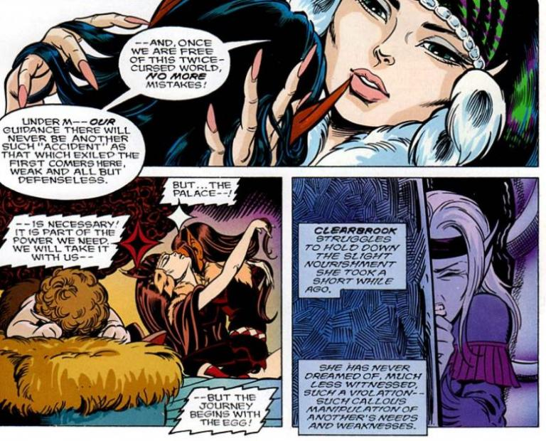 elfquest as usual gets it right -- poor bernice krueger!