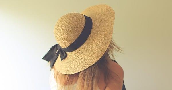 a big straw hat for jen hatmaker