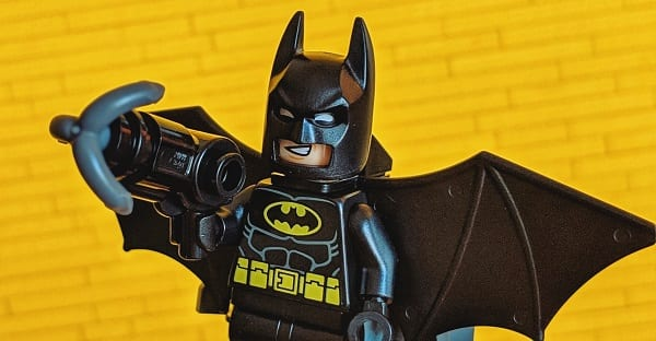 he's the batman