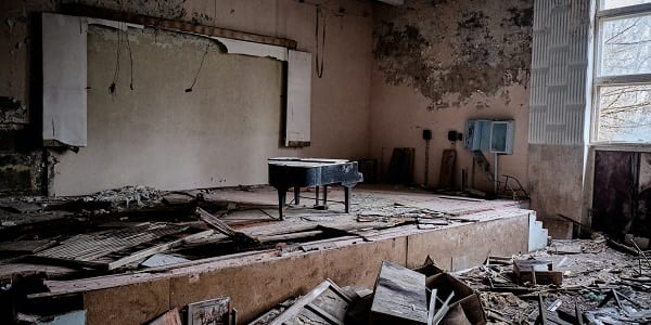 pripyat music school reminds me of youth groups nowadays