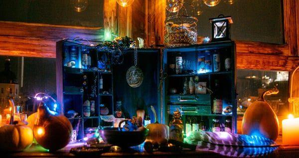 a pretty Samhain display