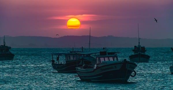 fishing boats in brazil