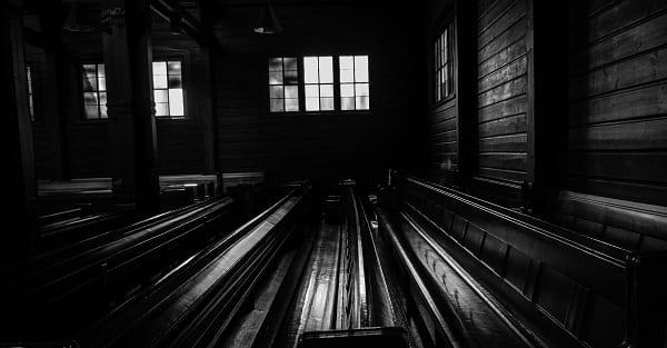 an empty church - the final fate