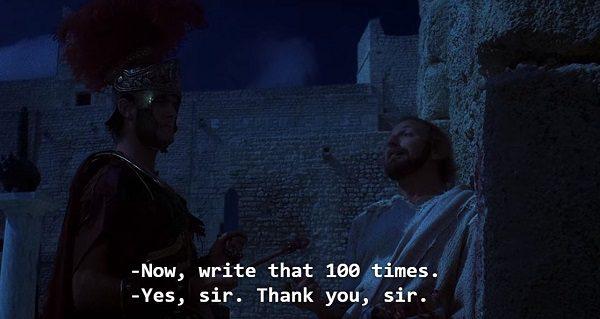 write that 100 times!