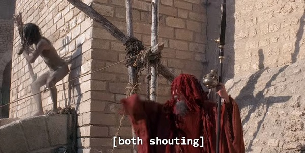 [both shouting] = very accurate subtitles