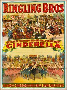 cinderella at the circus!