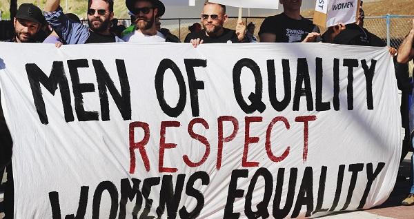 men speaking up for women!