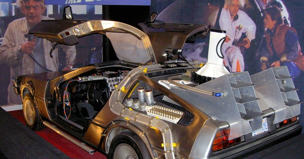 Are you telling me that you built a time machine... out of a DELOREAN?