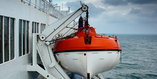 the lifeboat has lowered into the sbc's waters