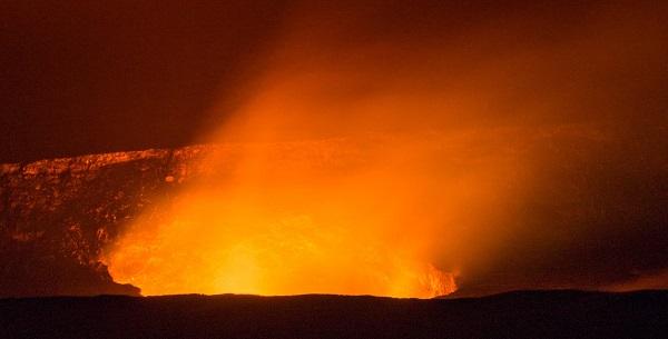 secret fire in a hawaiian volcano