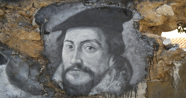 John Calvin looking chipper