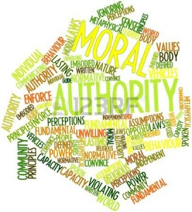 moral authority word cloud