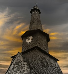 Twisted Church Spire