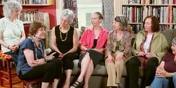 Original members of the Boston Women's Health Book Collective, reunited for the film